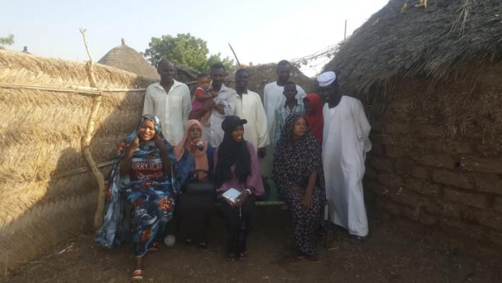 شكر للعائلة السودانية